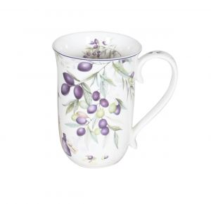 Lavender and Olive 405cc Mug  in a BOX