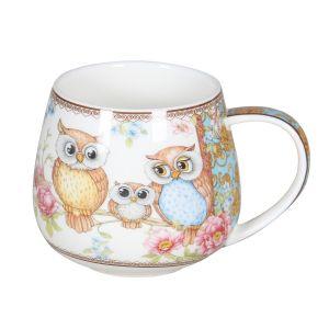 Owls 400cc Mug in a BOX